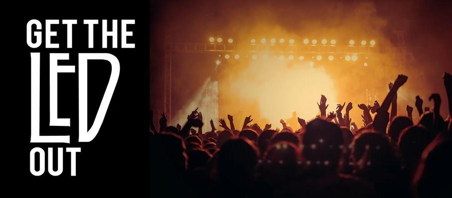 Get The Led Out - Tribute Band at The Moon